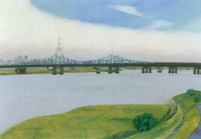 大田区ホームページ:新大田区百景 「多摩川と大師橋」