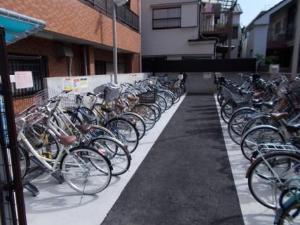 ... 駅前第一自転車駐車場 大田区